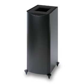 Atlantic Technology 6200eLR-PED-BLK Pedestal Stands for 6200eLR (Single, Satin Black)