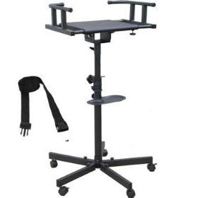 Karaoke Tv/monitor Stand Foldable Legs with Wheel