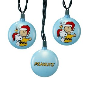 Kurt Adler PN9901 Peanuts Disc Light Set, 10 Light