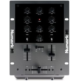Numark M1 Compact Two-Channel Scratch Mixer