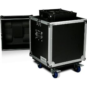Marathon Flight Ready Case MA-Mh250W Lighting Case To Hold 1 X Elation Power Spot 250, Design Spot 250 Or Similar Sized Moving Head with Caster Plate