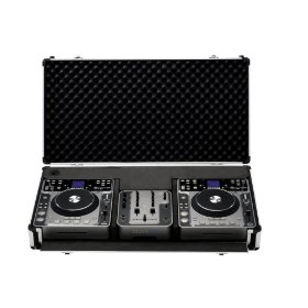 Stanton DigiPak ProV4 Dual CD Complete DJ Package with RoadCase