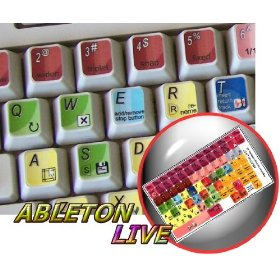NEW ABLETON LIVE (AUDIO EDITING) STICKER FOR KEYBOARD