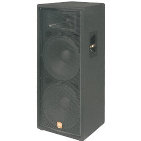 JBL JRX125 Dual 15 Inch 2 Way Speaker Cabinet 500 Watt Continuous 2000 Watt Peak