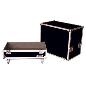 Odyssey FZG412LW Flight Zone Ata Case With Wheels For Large Guitar 412 Speaker Cabinet, Interior Dimensions: 29.75 X 29 X 16.13