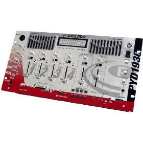 PylePro - 19'' Rack Mount 4CH Professional Mixer with SFX - PYD1930
