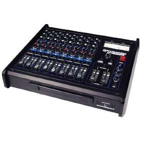 Pyramid PR8800 8 Channel Stereo Mixer with Echo