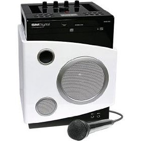 Singing Machine SMD-568 MP3 and CDG Recording Karaoke System with SD and USB Slots