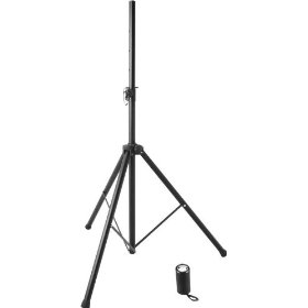 On Stage SS7725B All-Steel Mid-Size Speaker Stand Black