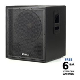 QSC HPR151i Powered Subwoofer (700 Watts, 1x15 in.)