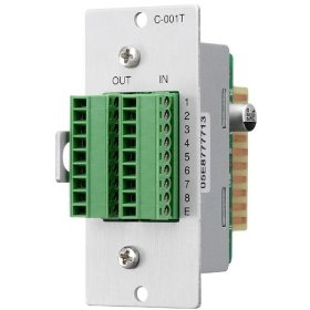 TOA C-001T Control Input-Output Expansion Module Designed for Use with 9000 Series Amplifiers