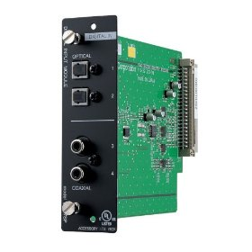 TOA D937SP Digital Input Module 2 Inputs Optical, Coaxial Connectors S-PDIF, Toslink Format