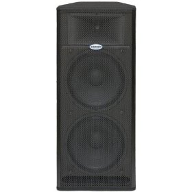 Samson Live 1215 2 Way Active PA Cabinet 15 Inch Drivers Bi Amplified Loudspeaker System