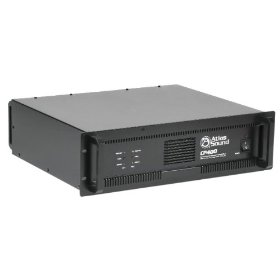 Atlas Sound CP400 Power Amplifier, 200 Watts Per Channel, 70 Volts 240 Watts, 4 Ohm