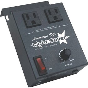 American DJ Light Saver 2-Channel Auto Timer