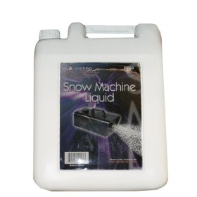 1 Gallon of Snow Machine Liquid Snow Flake Fluid Snow Party Theatrical Production