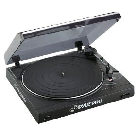 Pyle-Pro - Professional Belt Drive Turntable with USB Interface