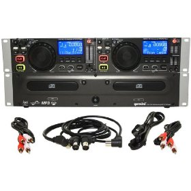 Brand New Gemini Cdx-2410 Professional Dual Dj Cd, Mp3 Player with Pitch Control, Pitch Bending, Auto Cue, Scratching, and the Best Features