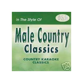 MALE HITS 2 Country Karaoke Classics CDG Music CD