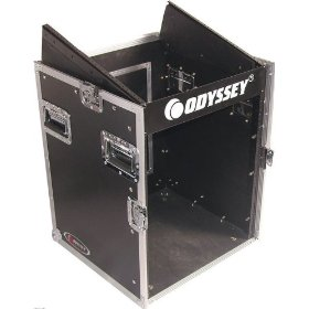 Odyssey FZ1012 Flight Zone Ata Combo Rack: 10u Slant, 12u Vertical