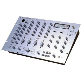 Pyramid PMR9600 4 Channel Rack Mount Dj Stereo Mixer with 6 BuiltIn Drum Effects and Digital Echo