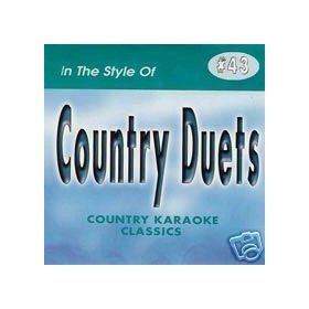 COUNTRY DUETS Country Karaoke Classics CDG Music CD