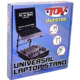 Brand New Tov T-ulps100 Lstand Laptop Stand with Case and Table Clamp