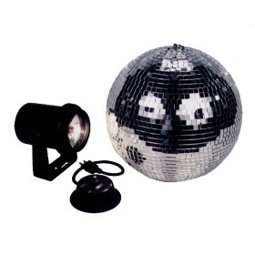 American DJ MB8 Combo 8 Inch Mirror Ball Kit