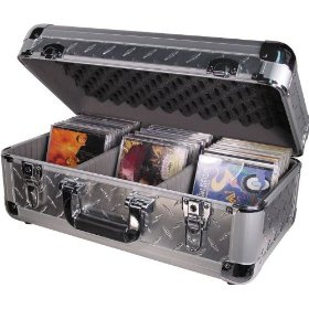 Odyssey KCD200SIL Silver Krom Case For 300 View Packs