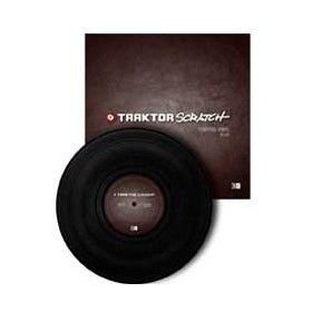 Native Instruments Traktor Scratch Pro - Control Vinyl (Black)