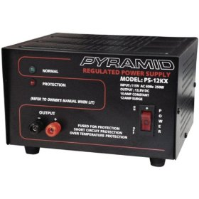 Pyramid PS12KX 10-amp 13.8-volt Power Supply