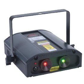 American DJ Galaxian 3D Green And Red Multi Beam Laser With 3D Type Gyration