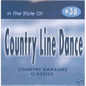 LINE DANCE Country Karaoke Classics CDG Music CD