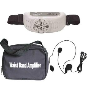 Audio 2000 Awp6203 Waist-band Pa Amplifier System with a Headset Microphone