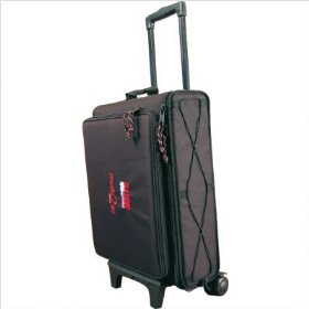 Gator GSRW-2U Rolling Laptop and 2-Space Rack Bag
