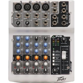 PV6 Compact 6 Channel Mixer