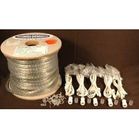 Clear Rope Lights 150' Spool