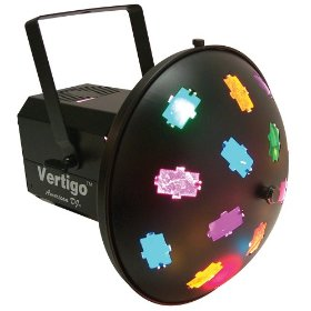American DJ Vertigo Multi Colored Sound Active Effect light