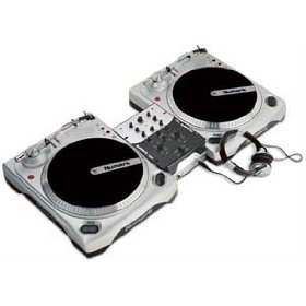 Brand New Numark Dj in a Box Dj Package with (2) Turntables, Mixer with Ipod Dock, and Dj Headphones