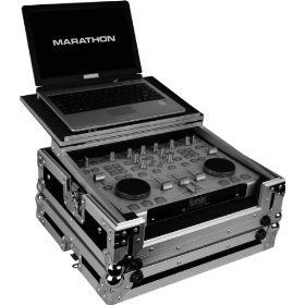 Marathon Flight Ready Case MA-Rmxlt Case To Hold 1 X Hercules Rmx Digital Music Controller + Laptop Shelf