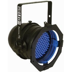 American DJ P-64LED/UV Blacklight Par Can with onboard Dimming