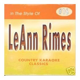 LEANN RIMES Country Karaoke Classics CDG Music CD