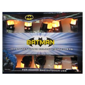 Kurt Adler BM0116 Batman Light Set, 10 Light