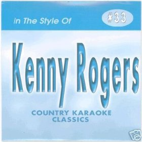 KENNY ROGERS #1 Country Karaoke Classics CDG Music CD