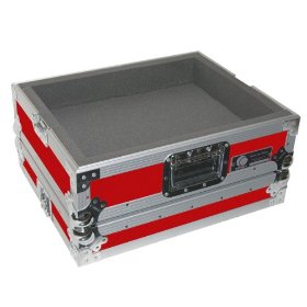 Odyssey FTTXRED Flight Style Dj Turntable Case