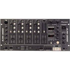 7-Channel Professional DJ Mixer With Digital Output