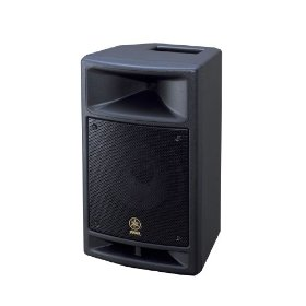 Yamaha MSR100 8-inch Powered Speaker with Built in 3 Input Mixer