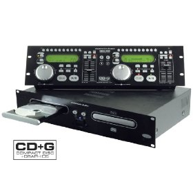 American Audio CDG 350 CD+G Dual CD Player Karaoke CDG 350