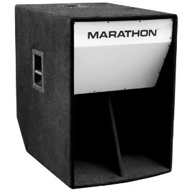 Marathon Ml-36 Folded Horn 18-Inch High Power Bass Cabinet