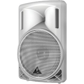 Behringer Eurolive B215D-WH Active 550-Watt 2-Way PA Speaker System with 15-inch Woofer and 1.35-inch Compression Driver, White